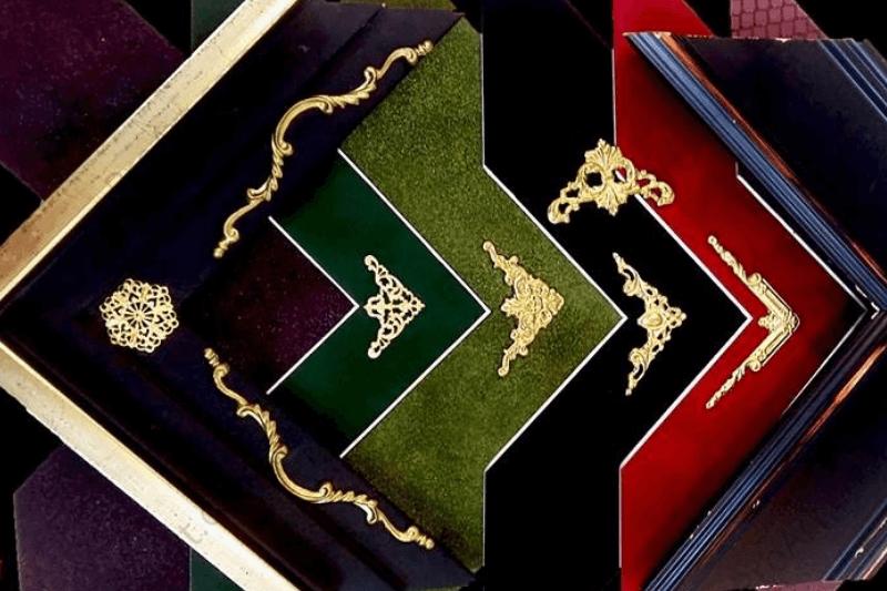 Декор паспарту